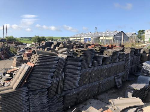 Large selection of Roof Tiles